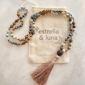 ▪️Arriving Soon! Long Natural Stone Bead Necklace